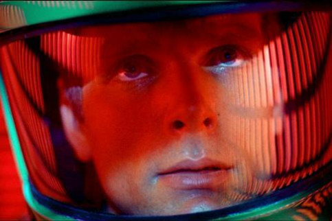 Shot from the movie '2001: A Space Odyssey'