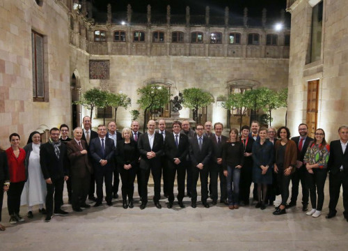 The annual meeting of the plenary session of the Public Diplomacy Council of Catalonia, which took place this 24th on November (by Diplocat)