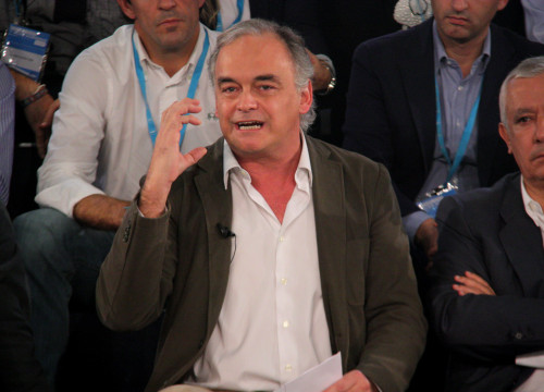 The leader of the PP in the European Parliament, Esteban González Pons (by ACN)