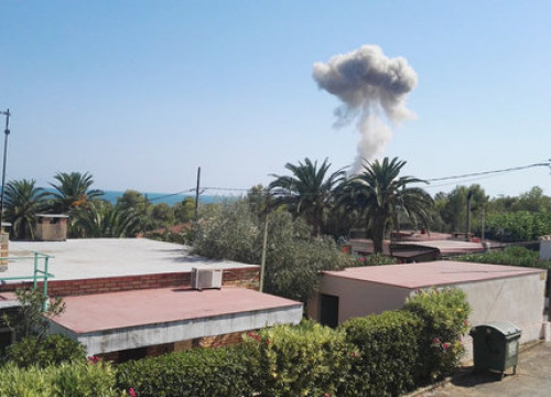 The second explosion in Alcanar (by ACN)