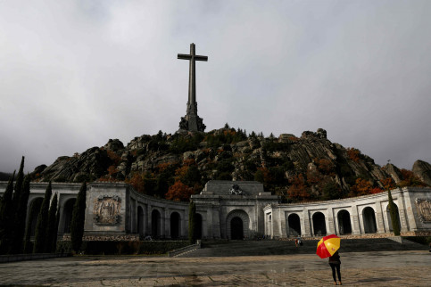 The Valley of the Fallen mausoleum, where Spain's late dictator Francisco Franco was buried for more than 40 years (by REUTERS/Susana Vera)