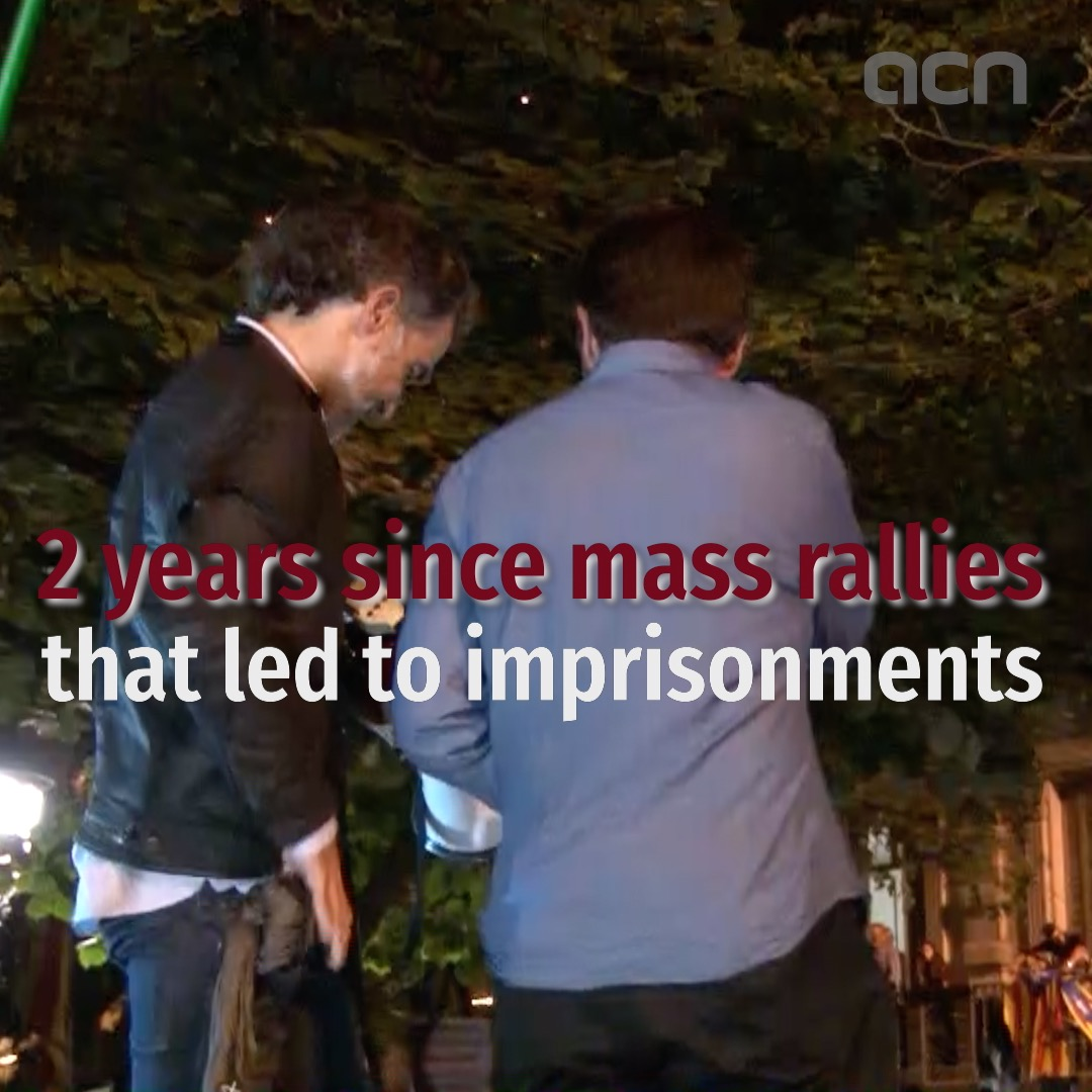 Two years since pre-referendum mass rallies that led to imprisonment of leaders