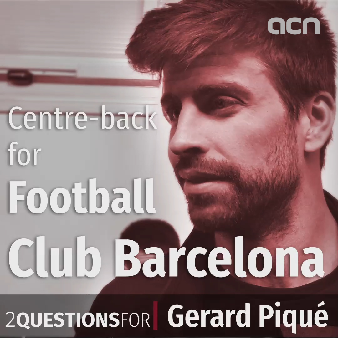 'Let's see what happens in the future' - Gerard Piqué responds to the prospect of Catalonia playing competitive football one day