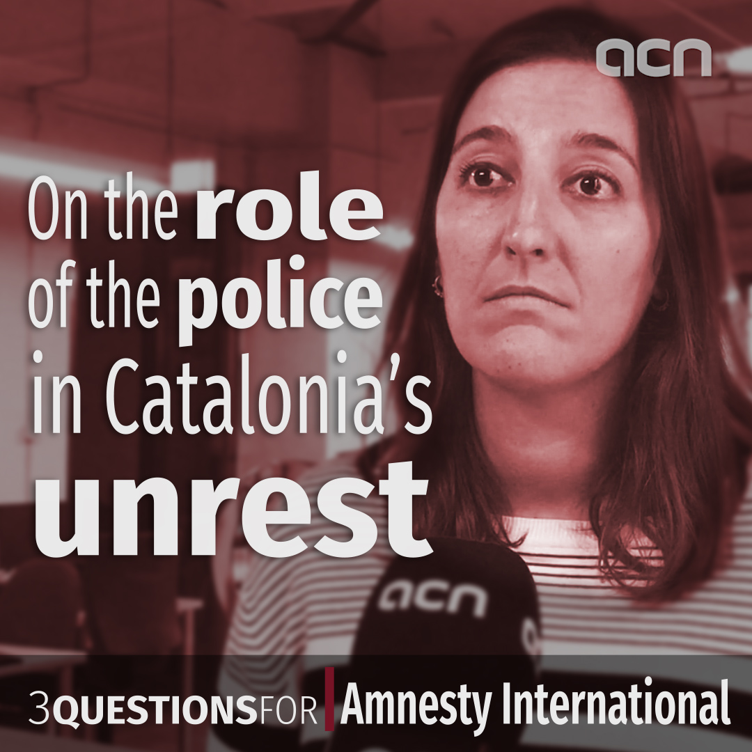 Amnesty International on the role of the police in Catalonia's unrest