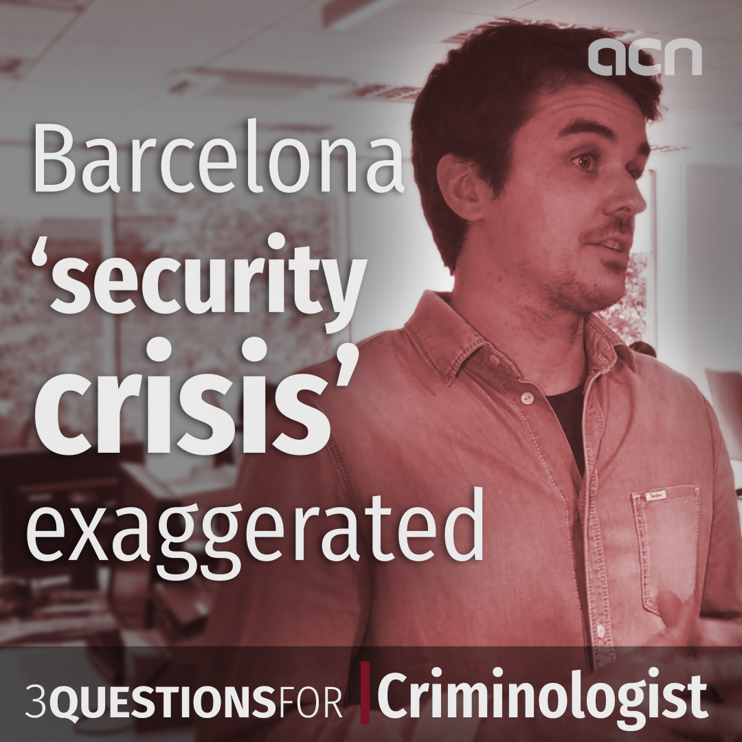 Barcelona 'security crisis' exaggerated