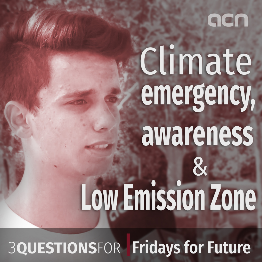 Climate emergency, awareness and the low emission zone