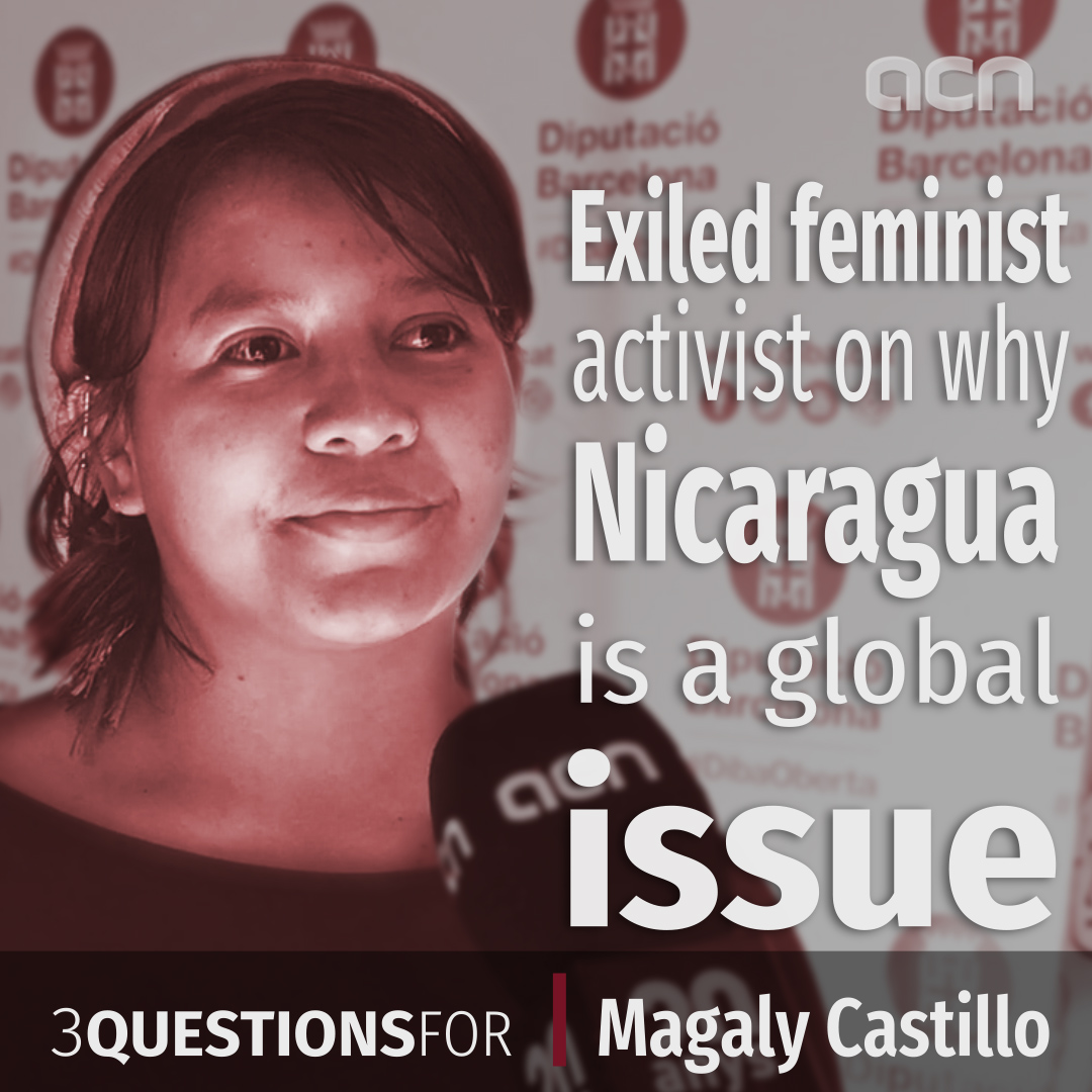 Exiled feminist activist on why Nicaragua is a global issue