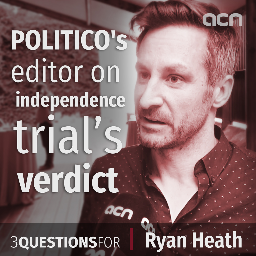 POLITICO's Ryan Heath on Brussels' likely reaction to the Catalan trial