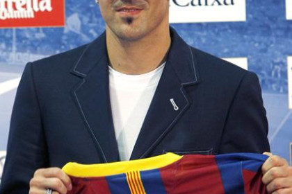 David Villa, Barça's latest signing