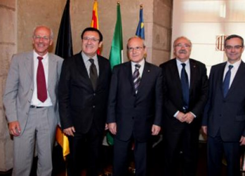 José Montilla becomes president of the Four Motors for Europe Association.