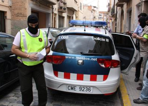 The special forces of the Mossos d'Esquadra