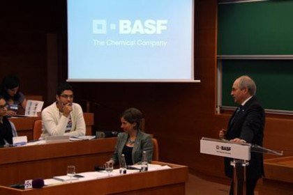 Erwin Ruhe, the head of the BASF group's activities in Spain