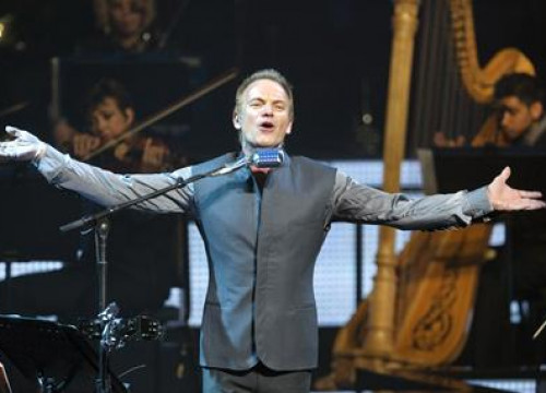 Sting, at his last concert of the Tour 'Simphonicities' in Vancouver, Canada