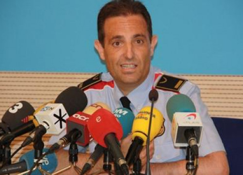 Ramon Grasa, Head of Investigation of the Catalan Police