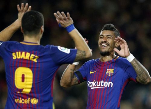 Suárez and Paulinho scored two goals each on a fabulous night for both (by Miguel Ruiz, FCB)