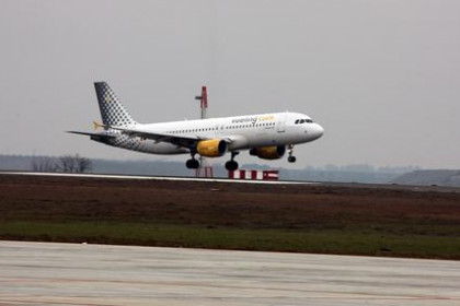 An airplane of Vueling