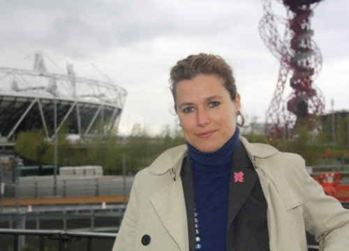 Laia Gasch, producer of the Cultural Olympiad London 2012 (by ACN)