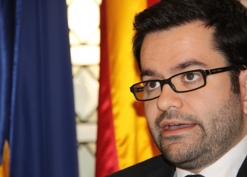 The Catalan Secretary of Foreign Affairs, Roger Albinyana (by ACN)