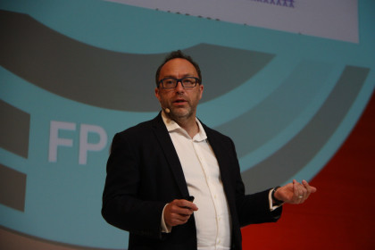 The founder of Wikipedia, Jimmy Wales (by ACN)
