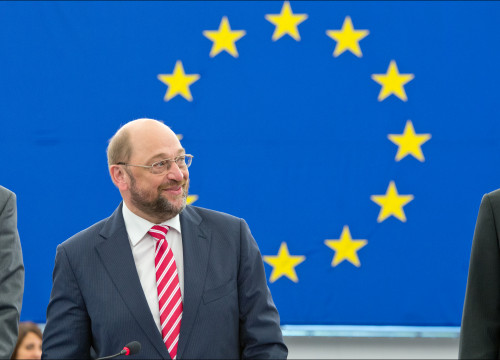 The new president of the European Parliament, Martin Schulz (by EP)