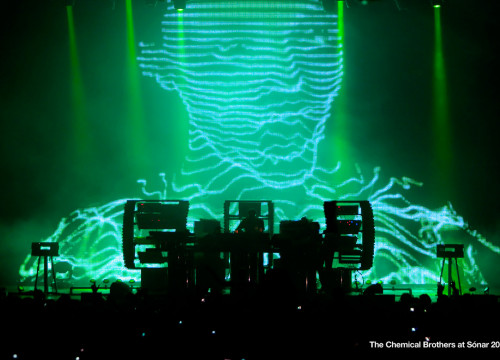 The Chemical Brothers in Barcelona in 2010 (by ACN)