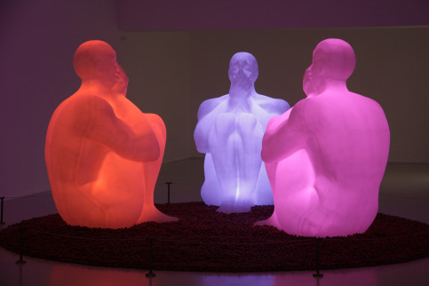 The installation 'Air, Water, Void', by Jaume Plensa (by ACN)