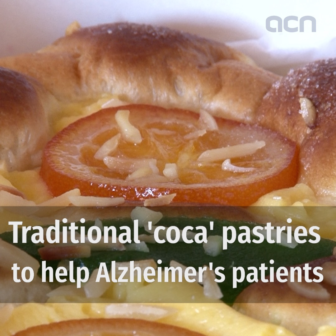 Traditional 'coca' pastries to help Alzheimer's patients
