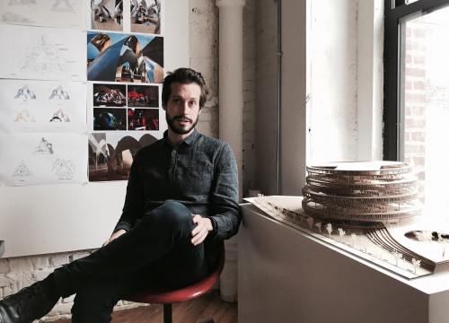 Albert Figueras, a Catalan architect living and working in New York