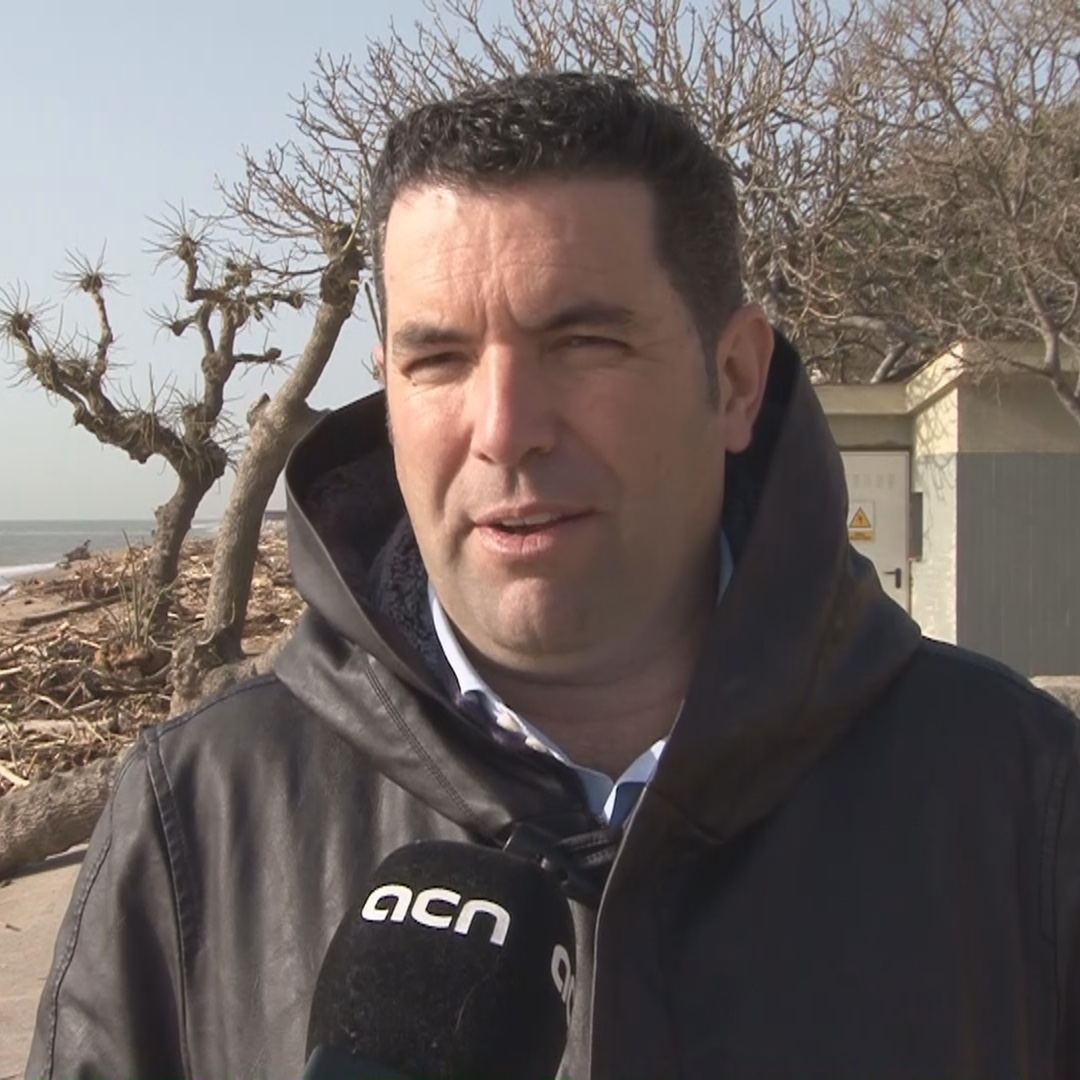 Xavi Amor, mayor of Pineda de Mar on the destruction caused by Storm Gloria