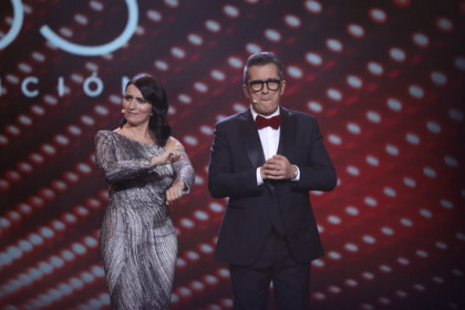 Andreu Buenafuente and Sílvia Abril presenting the 2019 Goya Awards (Source: Europa Press)