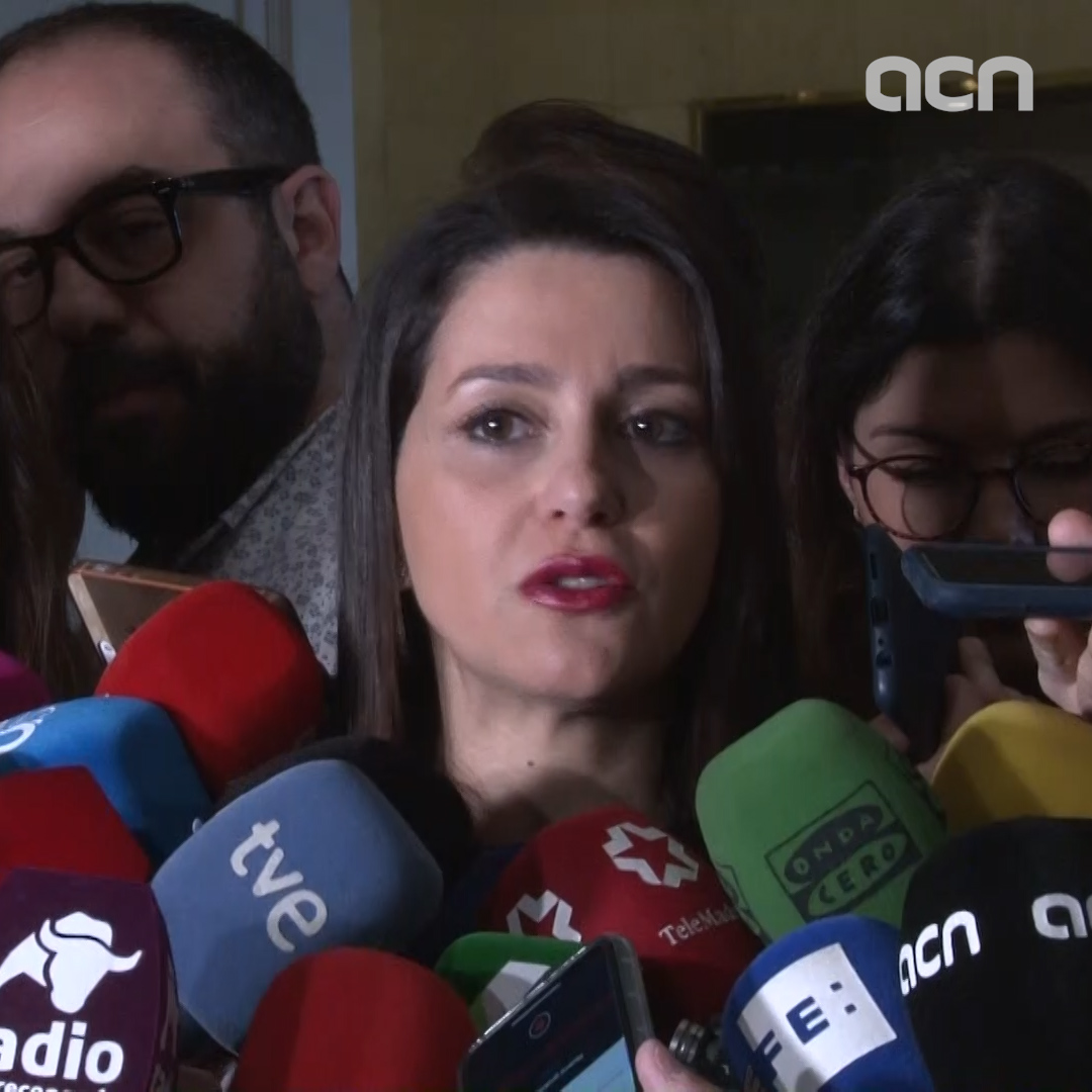 Cs' Inés Arrimadas: more and more people convinced that 'political center is essential'
