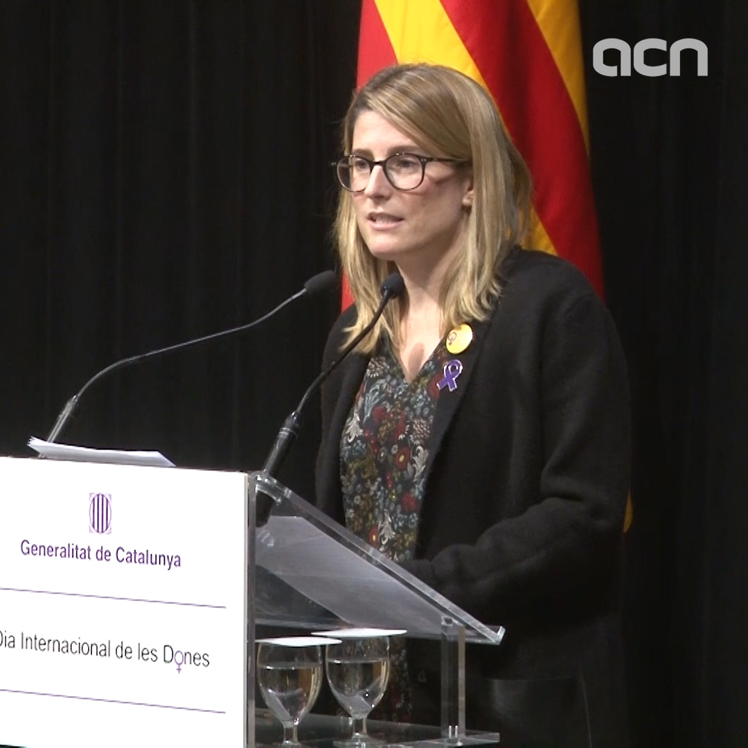 'We're still living in a patriarchal society,' says Catalan govt spokesperson