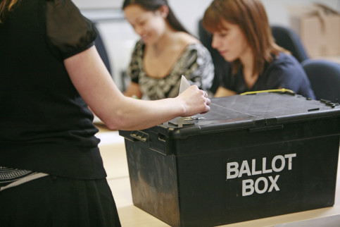 Image of a ballot box (by ACN)