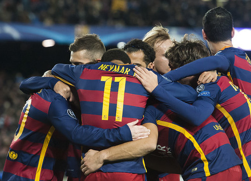 Barça put in another exhibition of football on their way to the last 16 (by FCB)