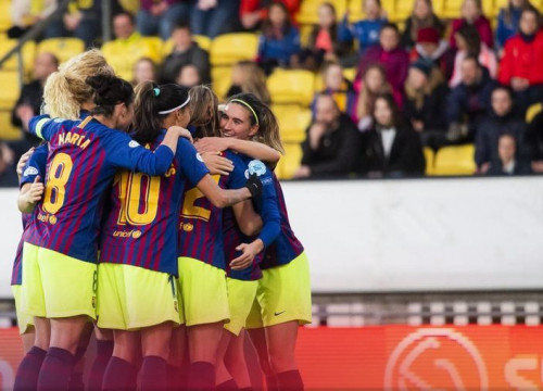 Barça's women celebrate a comfortable victory in Scandinavia