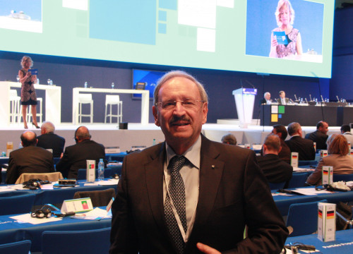 Bavaria CSU spokesman in EPP Statutory Congress, Reinhold Bocklet (by ACN)