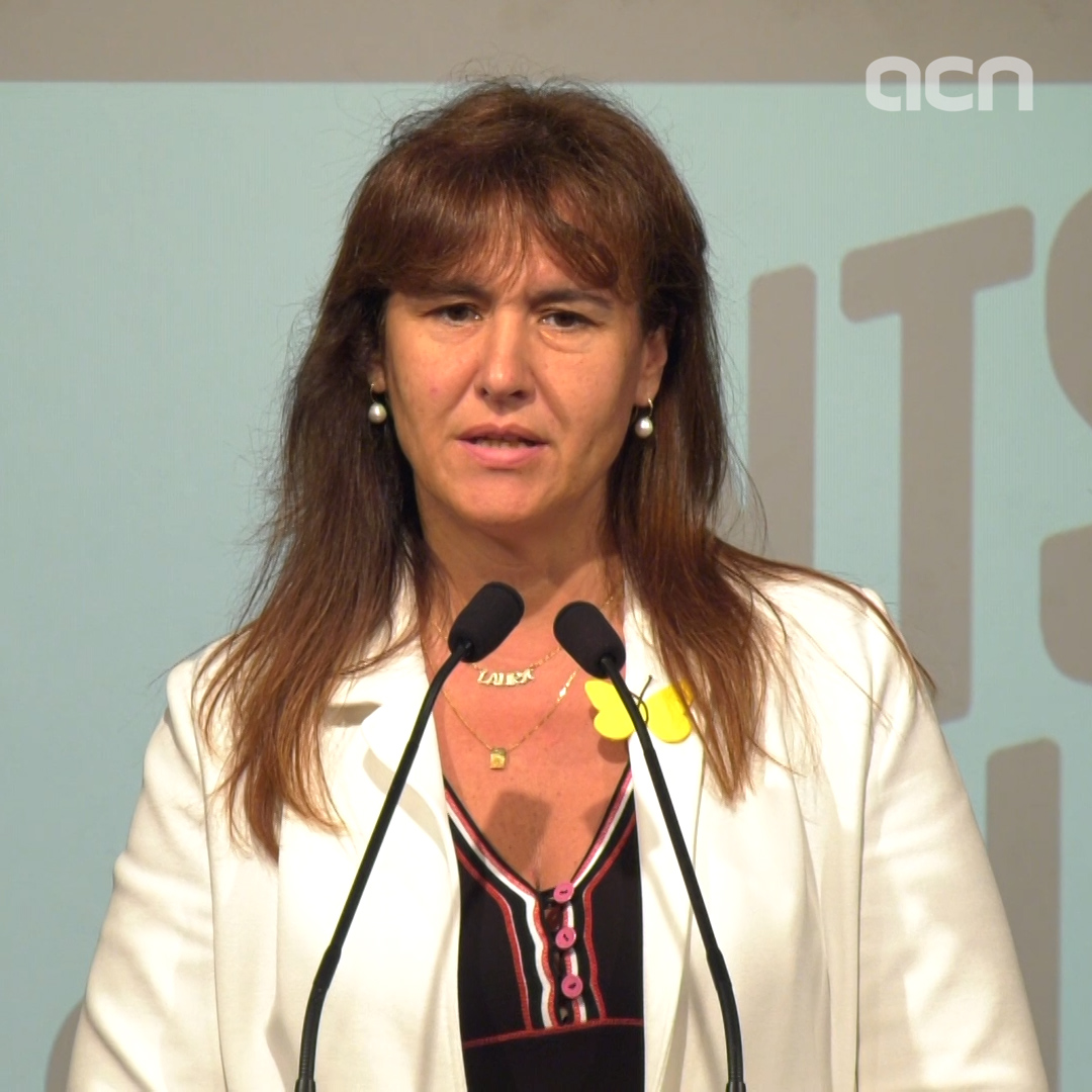 Laura Borràs says MPs' political rights were infringed