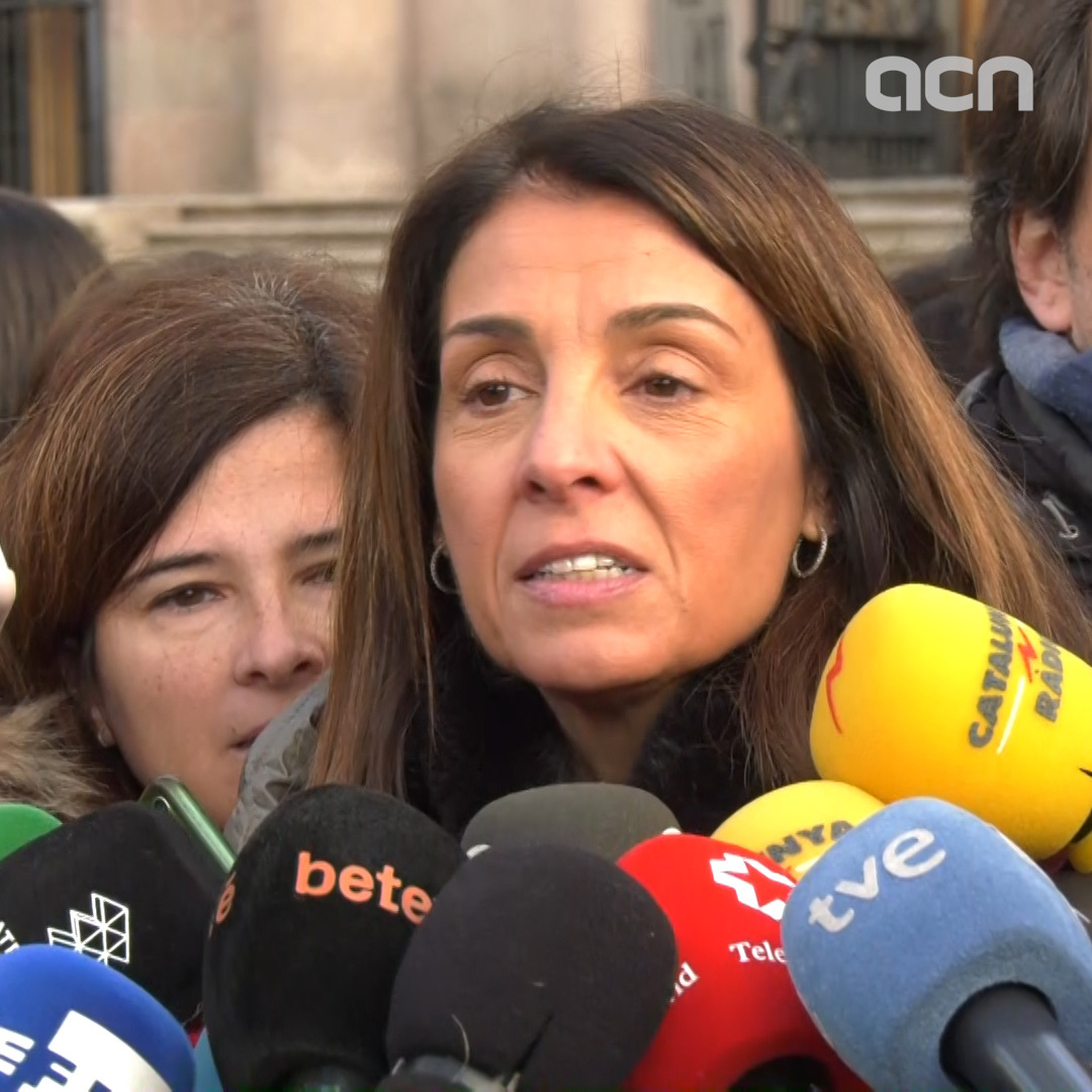 Budó on President Torra's trial: 'Spain is still using the courts to resolve that which must be resolved politically'