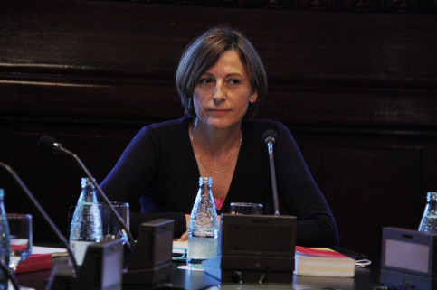 The President of the Catalan Parliament, Carme Forcadell (by ACN)