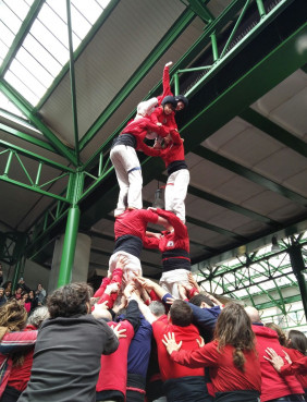 'Castellers of London' performing at London Borough's Market, this April (by ACN)