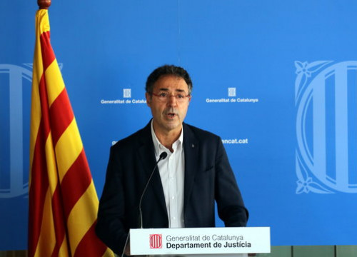 Catalan secretary for penal measures Amand Calderó on July 2, 2020 (by Pol Solà)