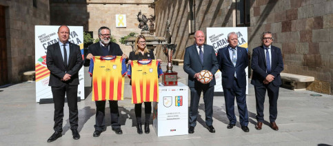 The presentation for the friendly fixture with top officials took place on Monday