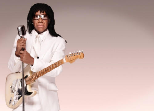 Nile Rodgers, leader of Chic, will play at the 2014 Sónar Festival in Barcelona (by Sónar)