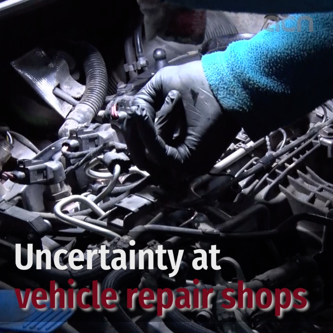 Uncertainty at vehicle repair shops