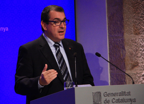 Current Catalan Minister for Home Affairs, Jordi Jané (by ACN)
