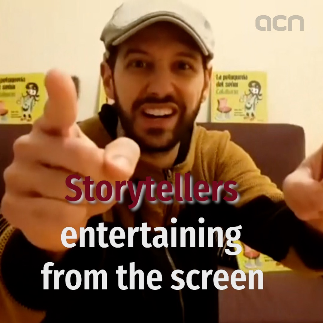Storytellers entertaining from the screen