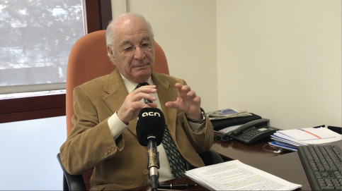 Doctor Terés in an interview with ACN on December 11 2018 (by ACN)