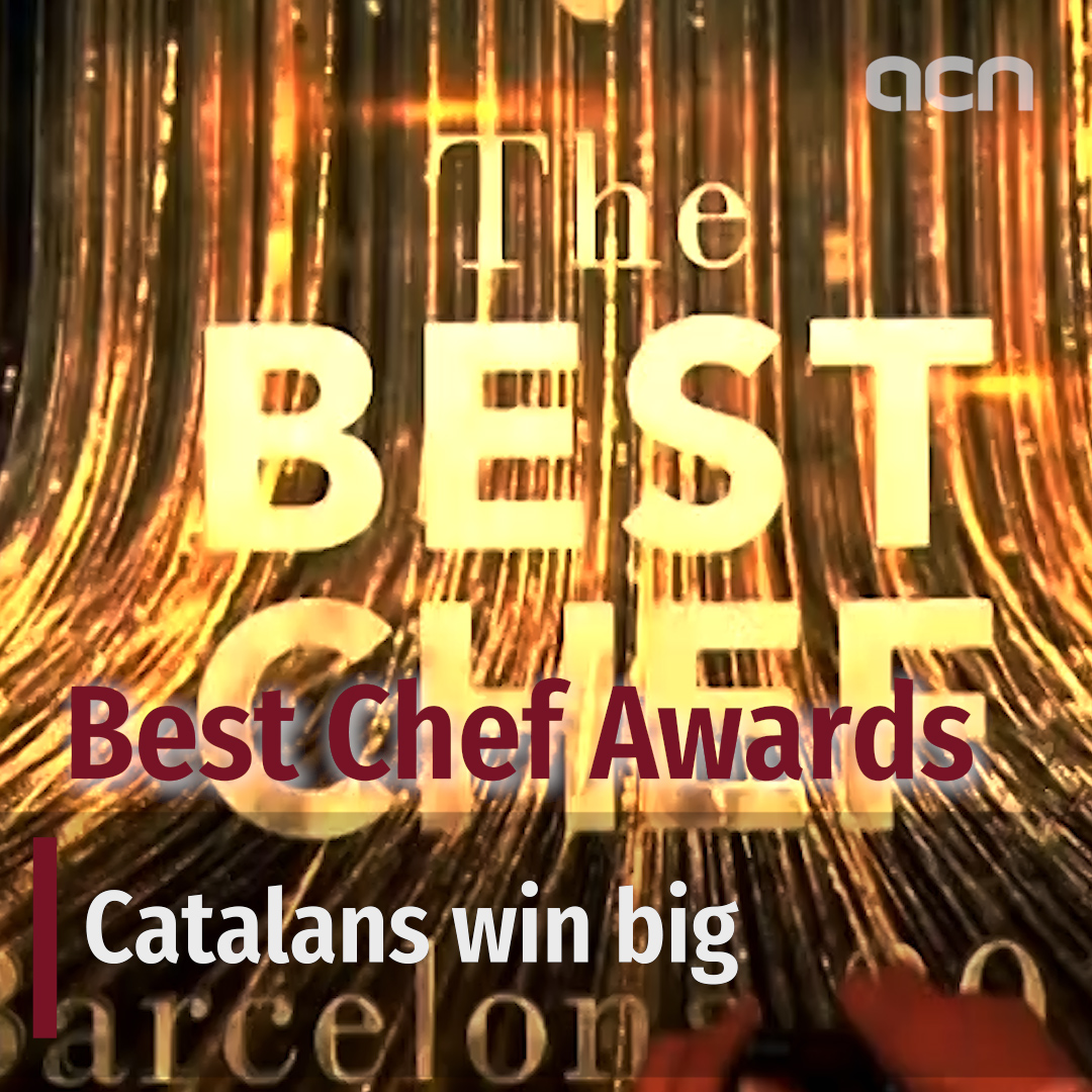 Catalan cuisine shines at Best Chef Awards