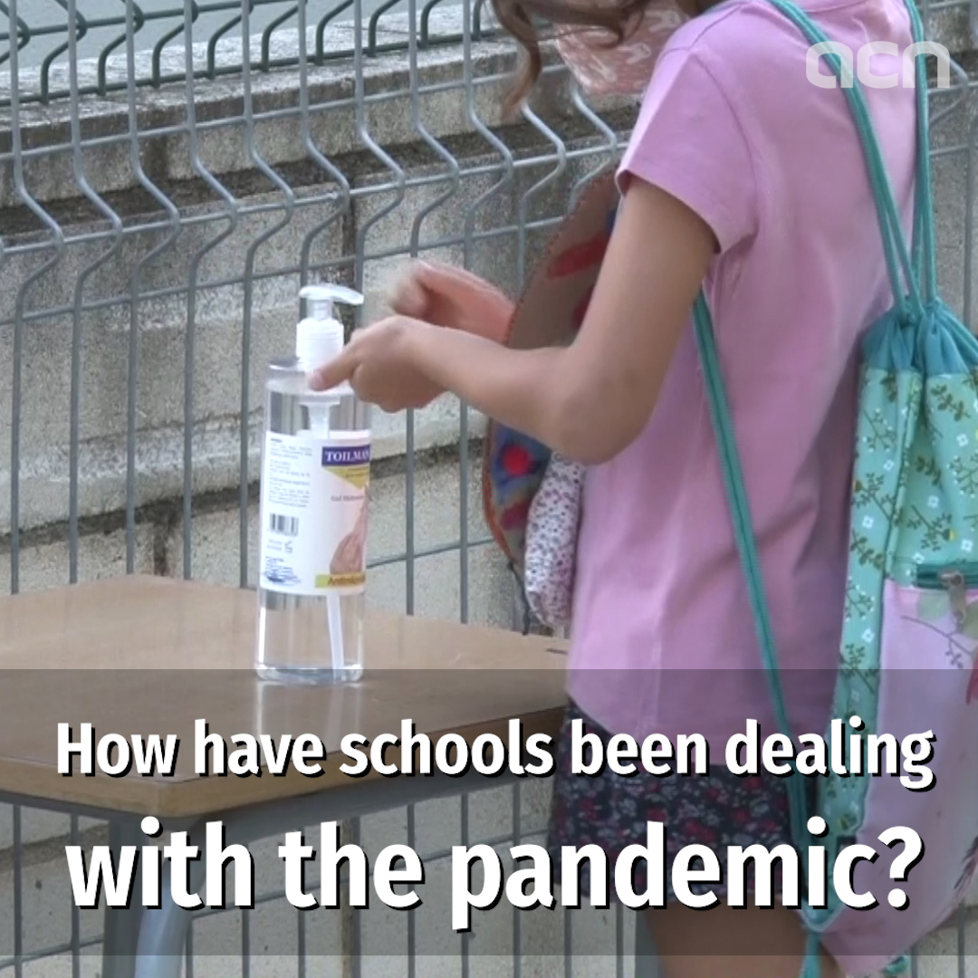 Return of schools during the pandemic, one month on