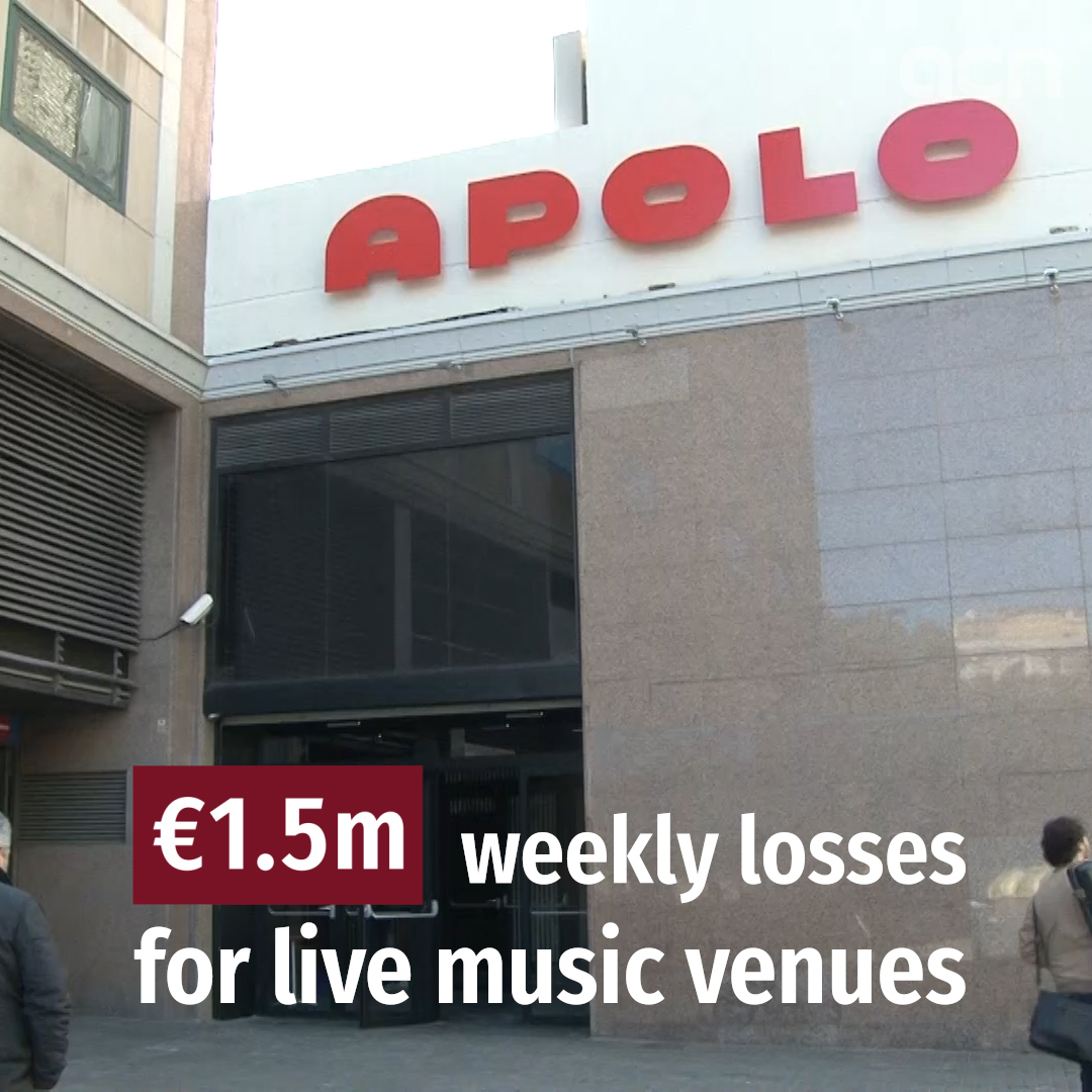 Huge losses to live music industry from coronavirus crisis